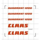 Decals Claas Quadrant 1200